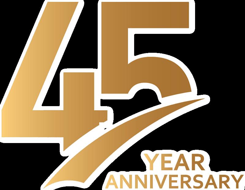 Celebrating 45th Anniversary