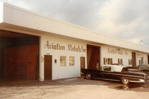 Aviation Metals, Ft. Lauderdale, 1976