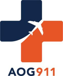 AOG911 Aircraft On Ground Logo